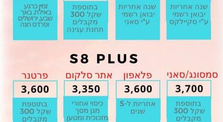 כמה עולה גלקסי S8? המחיר הנמוך כרגע – ברמי לוי