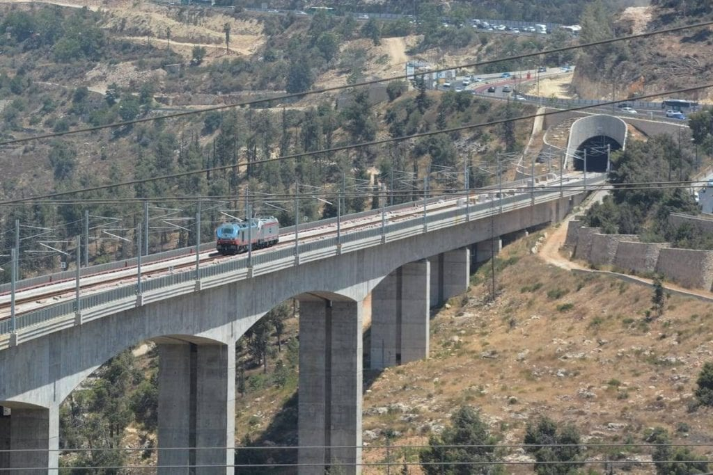 רכבת ירושלים תל אביב