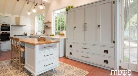 מטבחי יוקרה בסגנון כפרי ומודרני גם יחד