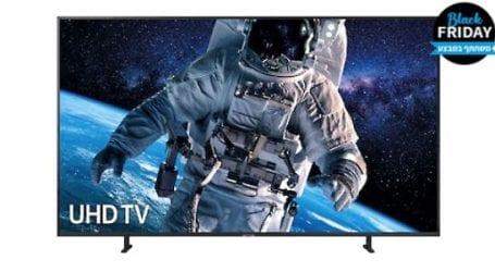 בלאק פריידיי: טלוויזיה של סמסונג בהנחה של מאות שקלים