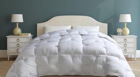 שמיכת פוך סינתטי ליחיד או למיטה זוגית